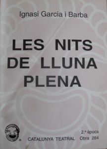LES NITS DE LLUNA PLENA, versió catalana publicada de EL CASERÓN DEL MIEDO