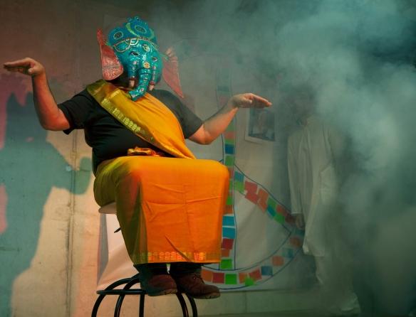 El dios Ganesh. Escena III. Foto: Vicente López Tofiño