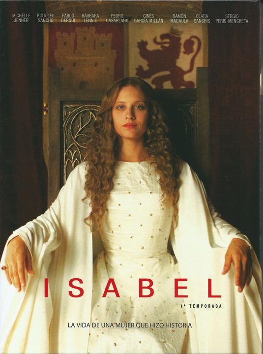 Michelle Jenner en la serie ISABEL