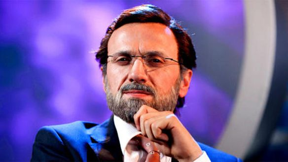 José Mota caracterizado como Mariano Rajoy