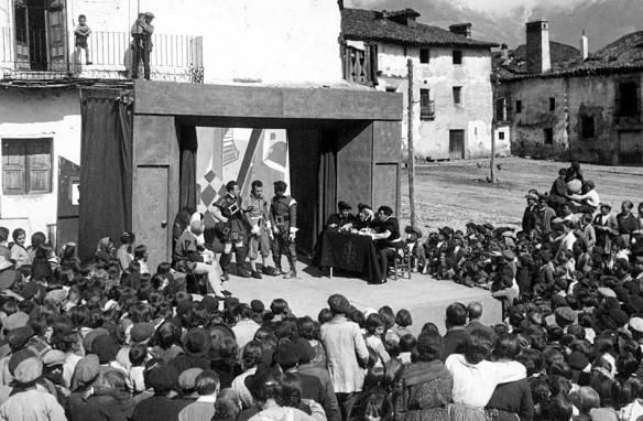 """Una representación de """"Teatro del Pueblo"""""""
