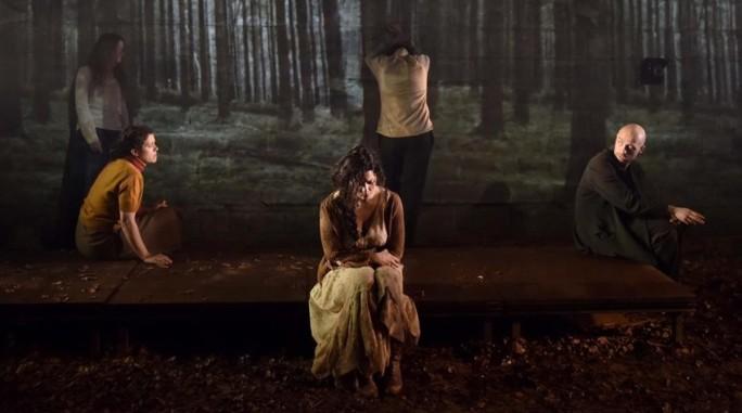 Muntatge de Boscos, de Wajdi Mouawad, dirigida per Oriol Broggi