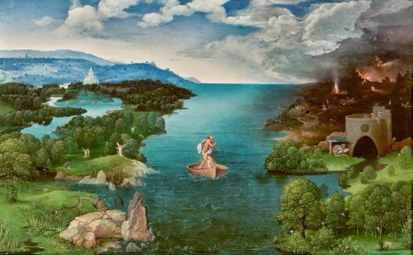 El pas de la Llacuna Estígia. Patiner. Museo del Prado