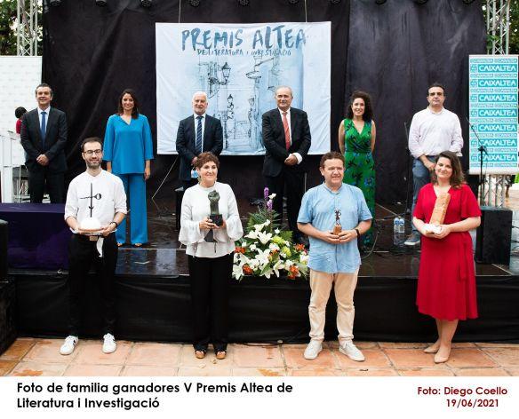 Foto premi Altea 2021
